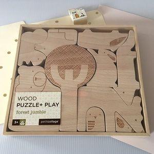 🆕{Anthropologie}  Animal Wooden Blocks